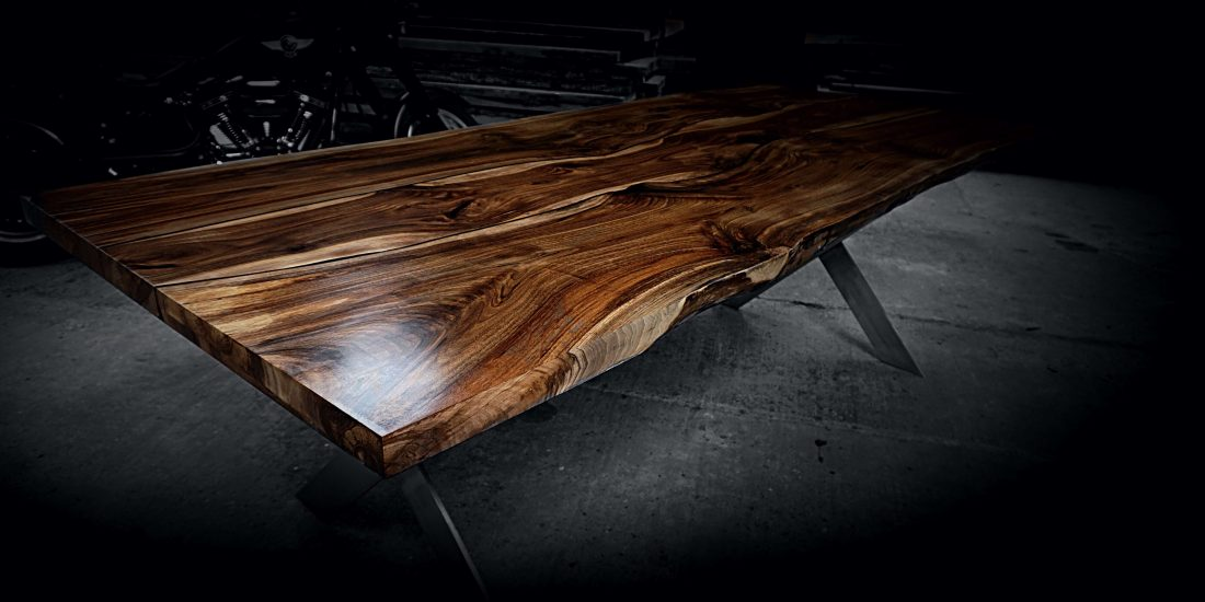 live edge river dining table in walnut as stawicki